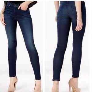 Hudson Sz 27 Shine Skinny Jeans